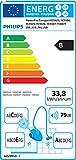 Philips PowerPro Compact FC8477/91 Staubsauger ohne Beutel EEK B (EPA10 Filter), grau -